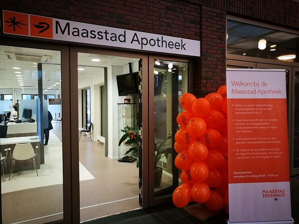 Ingang Maasstad Apotheek